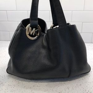 Well loved Michael Kors purse Black